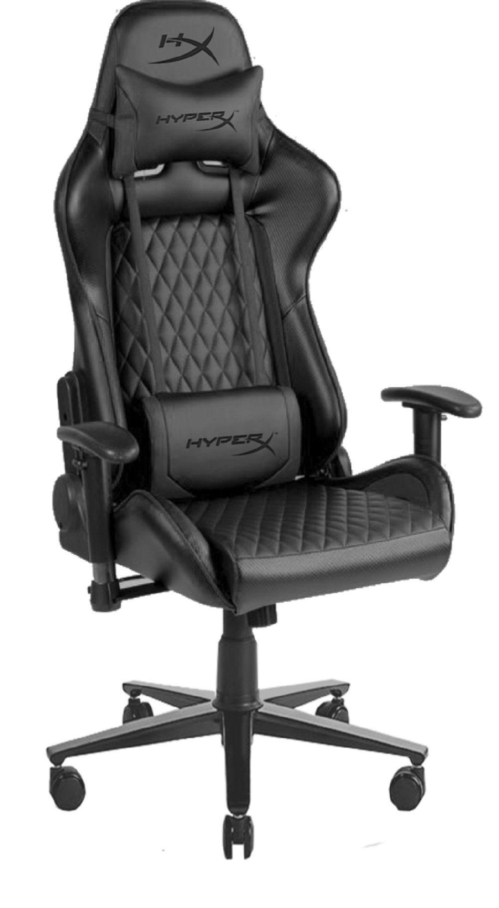 Stuhl Gaming Chair JET BLACK von HYPERX LICENSE - HYPERX LICENSE