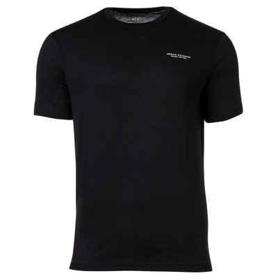 ARMANI EXCHANGE T-Shirt »Herren T-Shirt - Logoschriftzug, Rundhals, Cotton«