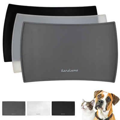 KaraLuna Futternapf »Napfunterlage aus Silikon, 2 Größen erhältlich«, Spülmaschinengeeignet