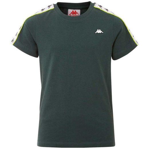 Kappa T-Shirt »AUTHENTIC HANNO KIDS« mit hochwertigem Jacquard Logoband