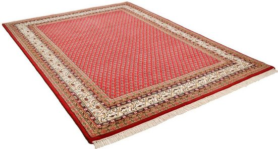 Orientteppich »Chandi Mir«, THEKO, rechteckig, Höhe 12 mm, handgeknüpft, mit Fransen