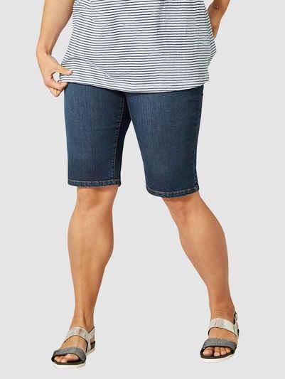 48 schwarz Sheego Damen Jeans Hose Jeanshose Stretch Gr 412