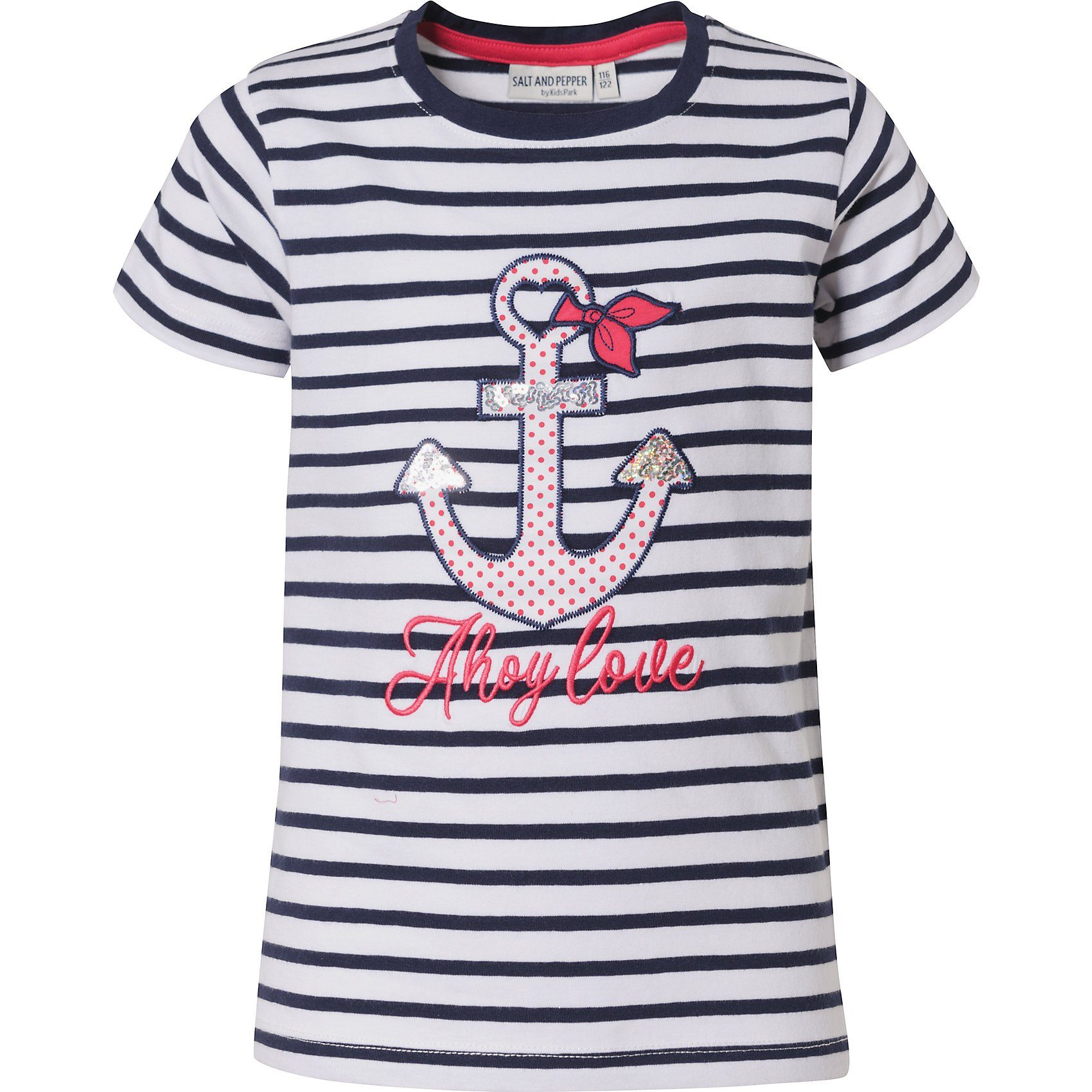 SALT AND PEPPER Baby-M/ädchen B Wild Stripe Love T-Shirt