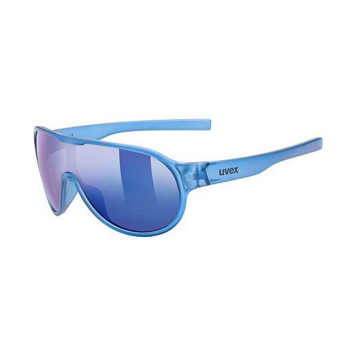 Uvex Sonnenbrille »Sonnenbrille sportstyle 512 orange mat/mir.green«