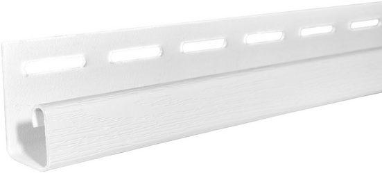 BAUKULIT Set: Abschlussprofil »SOFFIT Weiß«, für Dachüberstand, 4er Set, je 1,525 m
