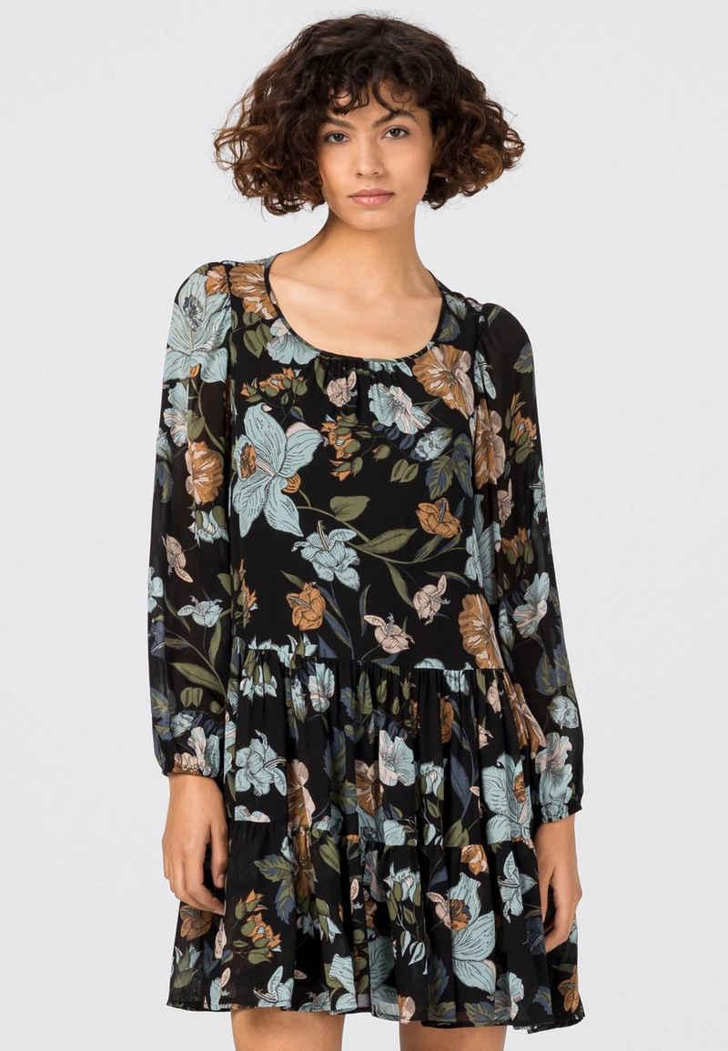HALLHUBER A-Linien-Kleid »mit Floralprint«
