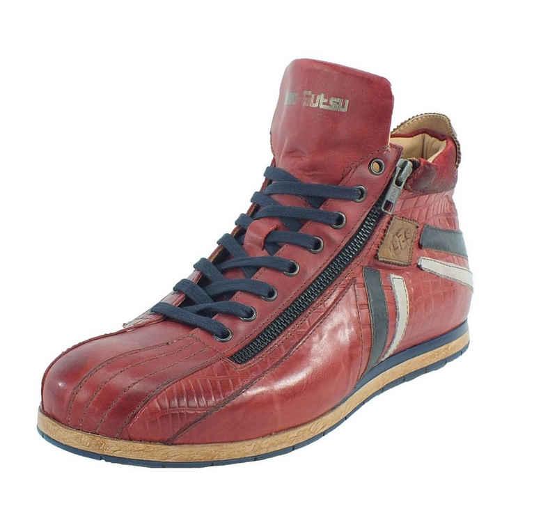 Kamo-Gutsu »Kamo-Gutsu Herren Sneaker Rosso Combi« Sneaker Wechselfussbett