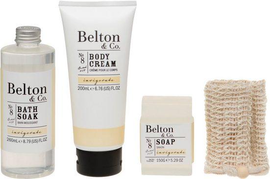 Hautpflege-Set »Belton & Co - Invigorate Bath & Body Set«, 4-tlg.