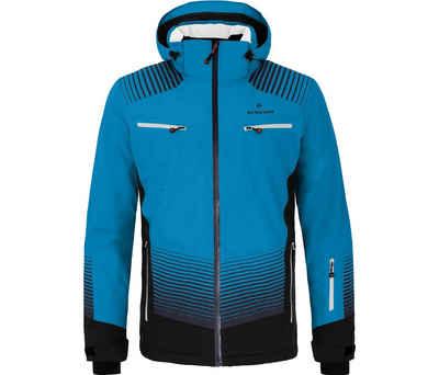 Bergson Skijacke »TAAVI« Herren Skijacke, wattiert, 20000 mm Wassersäule, Normalgrößen, Methyl blau