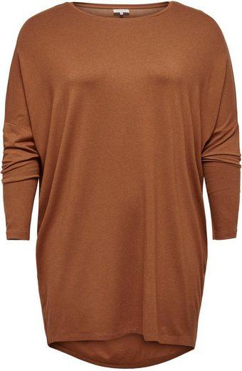 ONLY CARMAKOMA Oversize-Shirt mit überschnittenen Schultern