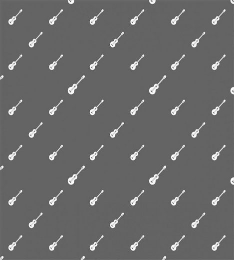 Bettwäsche »Milbensicher Allergiker geeignet mit Kissenbezug«, Abakuhaus, Klassischer Rock 4 Saiter