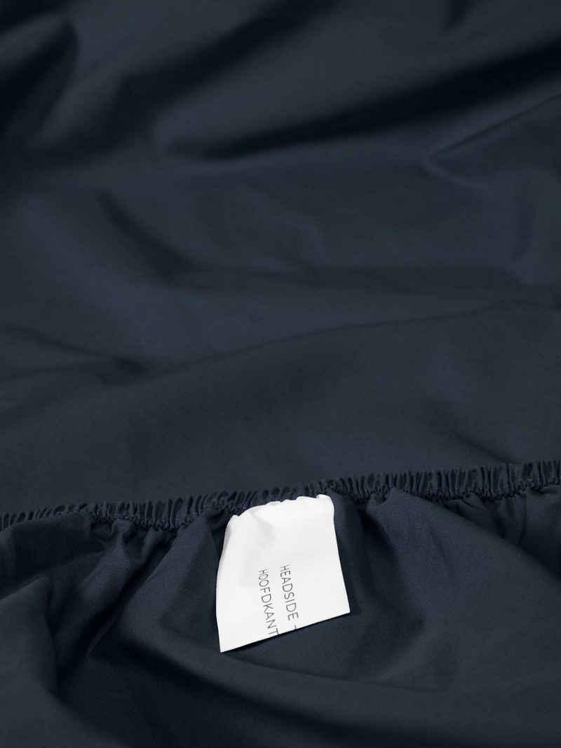 Spannbettlaken »Premium Percale«, Essenza, Uni Baumwollperkal