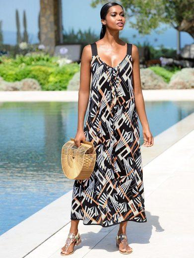 Alba Moda Strandkleid im Grafikdruck