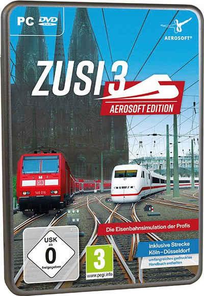 Zusi 3 Aerosoft Edition + Strecke Köln-Düsseldorf PC
