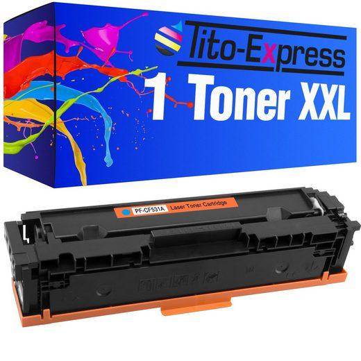 Tito-Express PlatinumSerie Tonerpatrone »ersetzt HP CF531A CF531 A 205A Cyan«