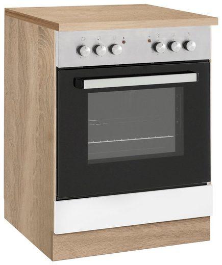 wiho Küchen Herdumbauschrank »Cali« 60 cm breit