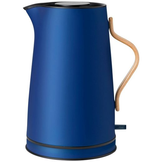 Stelton Wasserkocher Stelton Emma Wasserkocher 1,2 Liter dark blue / dunkelblau
