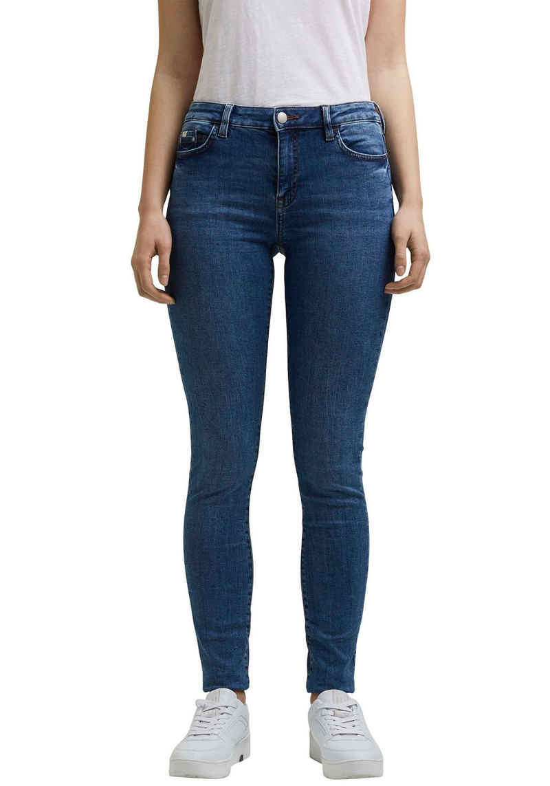 edc by Esprit Skinny-fit-Jeans in klassischen, cleanem Look