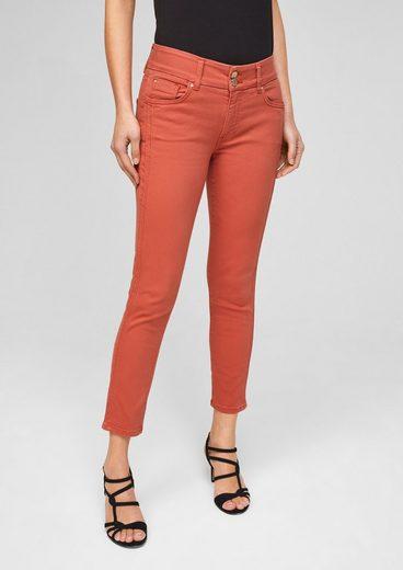 s.Oliver BLACK LABEL 7/8-Jeans »Slim Fit: Verkürzte Slim leg-Hose«