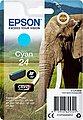 Epson »Tinte Singlepack Cyan 24« Tintenpatrone, Bild 3