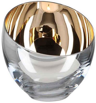 Fink Teelichthalter »CANDY« (Set, 2 Stück), aus Glas