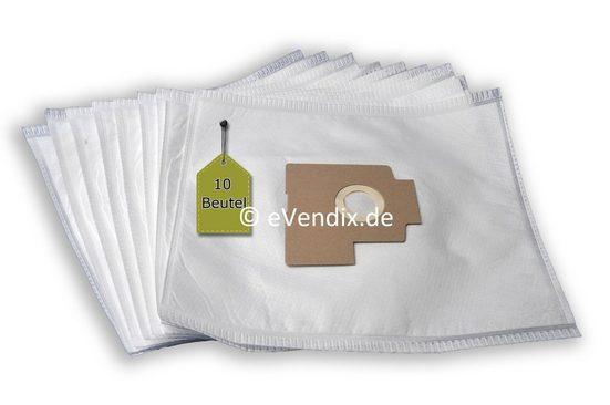 eVendix Staubsaugerbeutel Staubsaugerbeutel kompatibel mit Volta V 2, 10 Staubbeutel + 2 Mikro-Filter, kompatibel mit SWIRL E69, passend für Volta