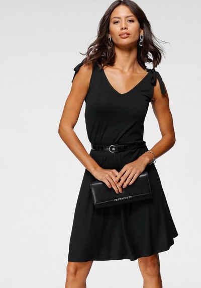 Laura Scott Jerseykleid mit Schleife