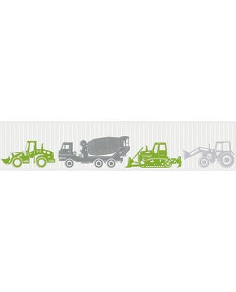 Esprit Bordüre »Tractors« Borte Baustelle vai...