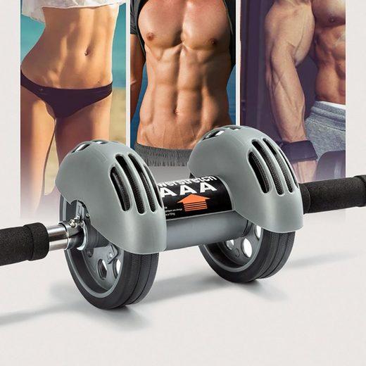 esyBeFit AB-Roller »JFL006, Bauchroller, Trainer für Bauchmuskeln und Rumpf, Bauchmuskeltrainer inkl. Kniepad,Knieauflage, AB Roller«