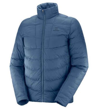 Salomon Funktionsjacke »Salomon Sight Storm Jacke hochgeschlossene Isolations-Jacke für Herren Stepp-Jacke Funktions-Jacke Blau«