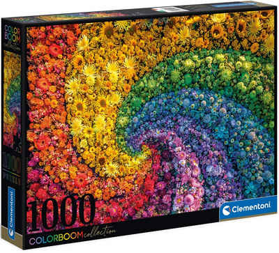 Clementoni® Puzzle »Colorboom Collection - Whirl«, 1000 Puzzleteile, Made in Europe, FSC® - schützt Wald - weltweit