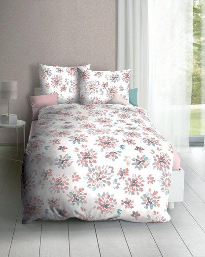 Bettwäsche »Clarisse«, Kaeppel, große Blumen