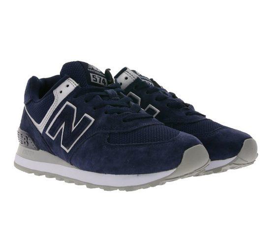New Balance »New Balance WL574 Sneaker schlichte Damen Turnschuhe mit ENCAP-Sohle Sportschuhe Dunkelblau« Sneaker