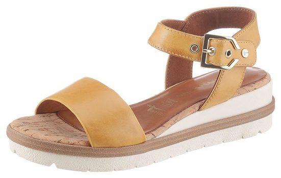 Tamaris »Eda« Sandale im schlichten Design