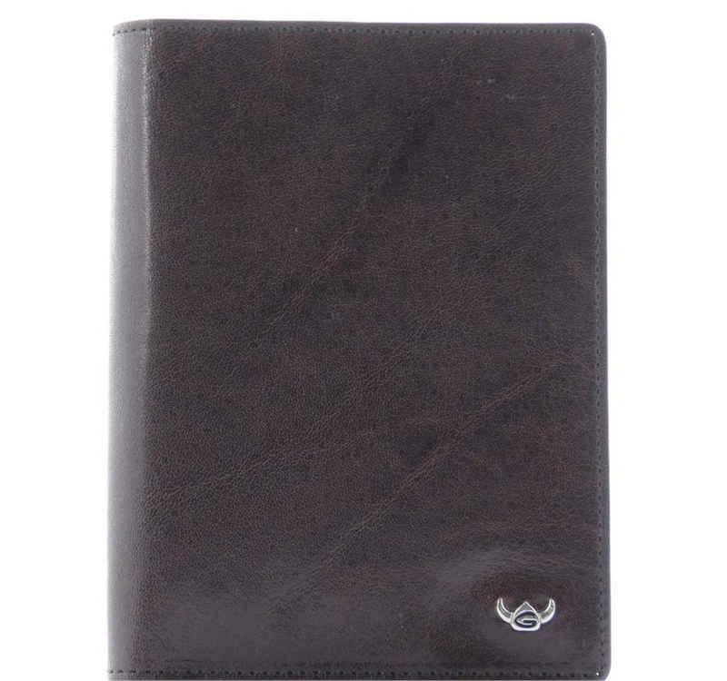Golden Head Brieftasche (1-tlg), handgefertigt