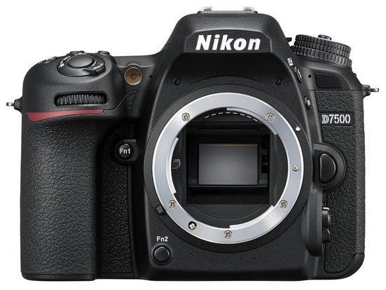Nikon »D7500 Gehäuse schwarz« Spiegelreflexkamera