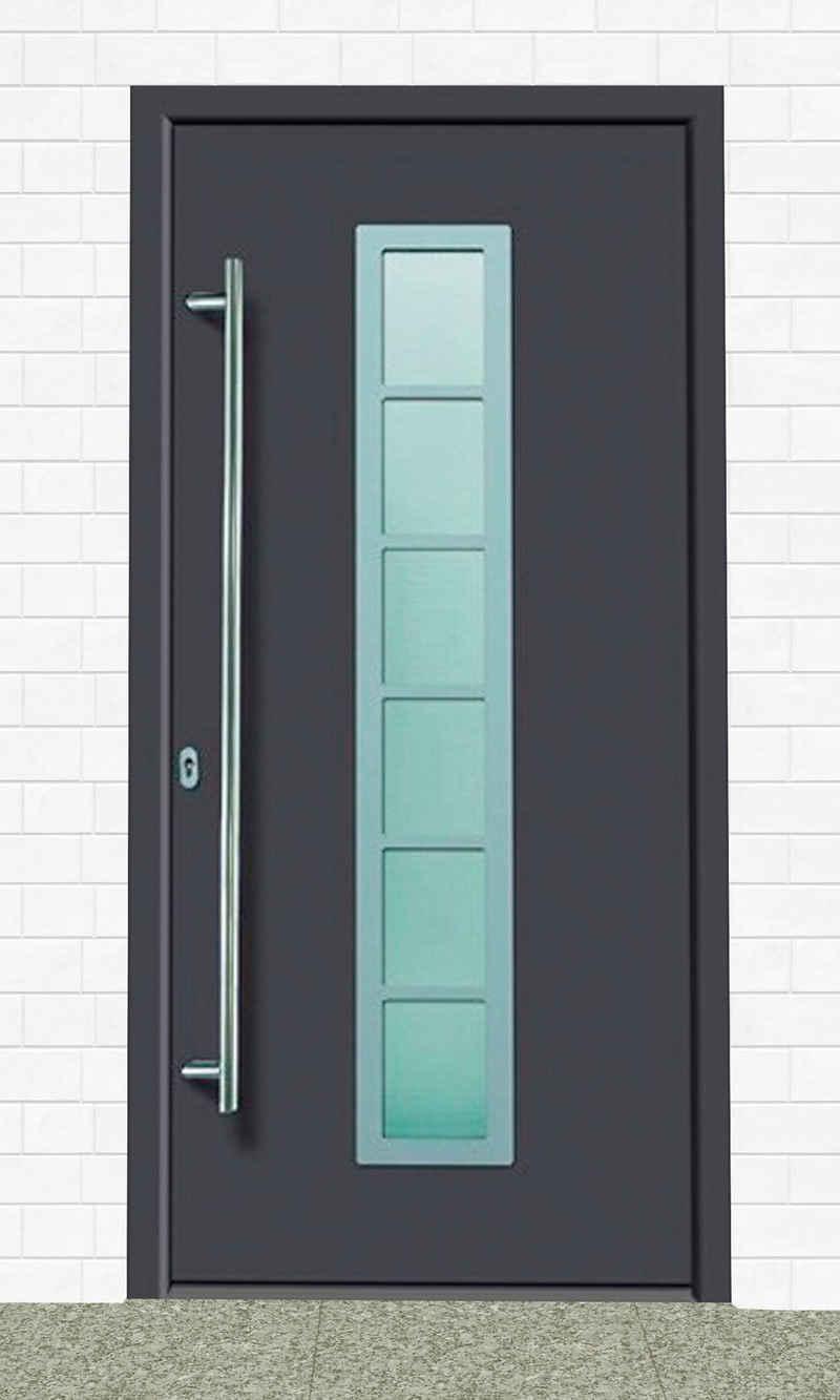KM Zaun Haustür »A04«, BxH: 108x208 cm, anthrazit, in 2 Varianten