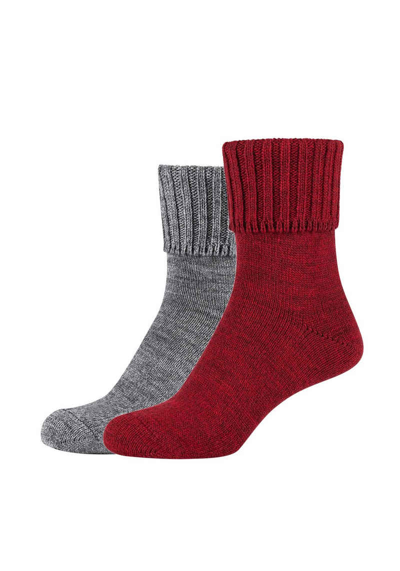 Camano Socken (2-Paar) mit Komfortbund