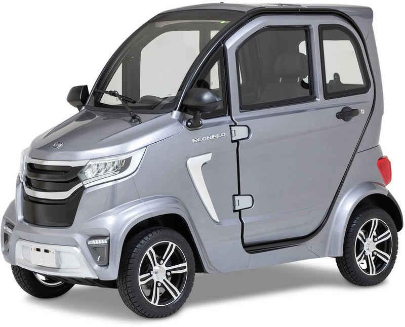 ECONELO Elektromobil »ECONELO M1«, 2200 W, 45 km/h, Alufelgen, elektrische Fensterheber, Rückfahrkamera, MP3-Player und FM Radio
