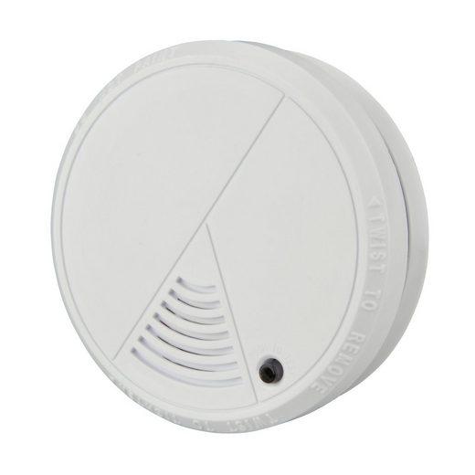UNITEC Rauchmelder (Unitec Feuermelder weiss inkl. Batterien Brandmelder Rauchwarnmelder)