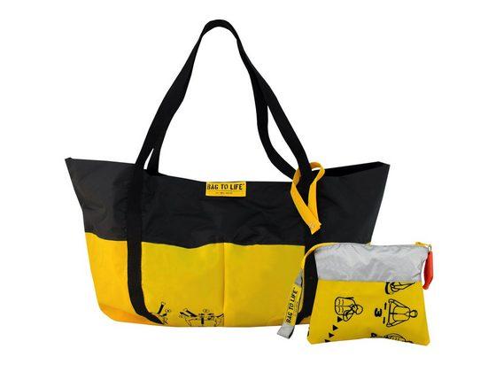 Bag to Life Shopper »Airlie Bundle« (2-tlg), aus recyceltem Material