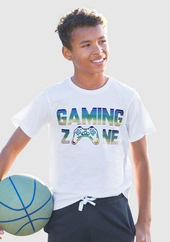 KIDSWORLD Marškinėliai »GAMING ZONE«