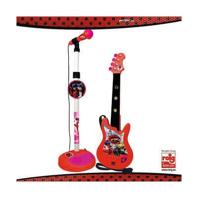 Miraculous - Ladybug Saiten »Miraculous Mikrofon und Gitarre«