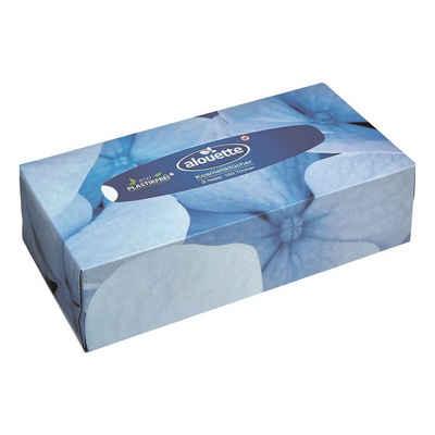 alouette Gesichtsreinigungstücher, Kosmetiktücher 2-lagig, 150 Stück/Pack