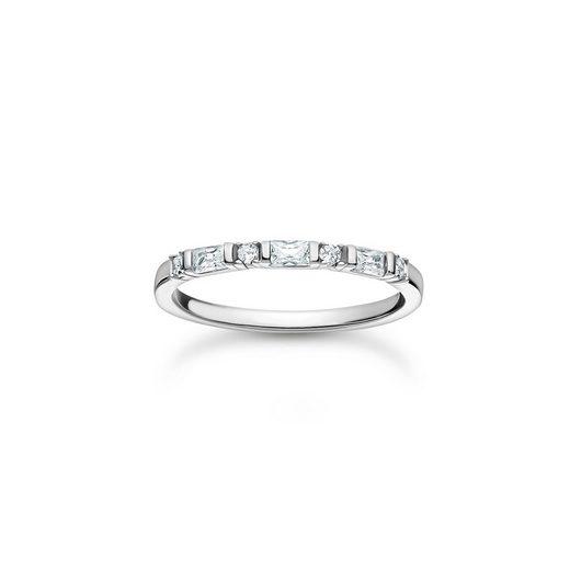 THOMAS SABO Fingerring »TR2348-051-14 Ring Damen Weiße Steine Silber Gr. 48«
