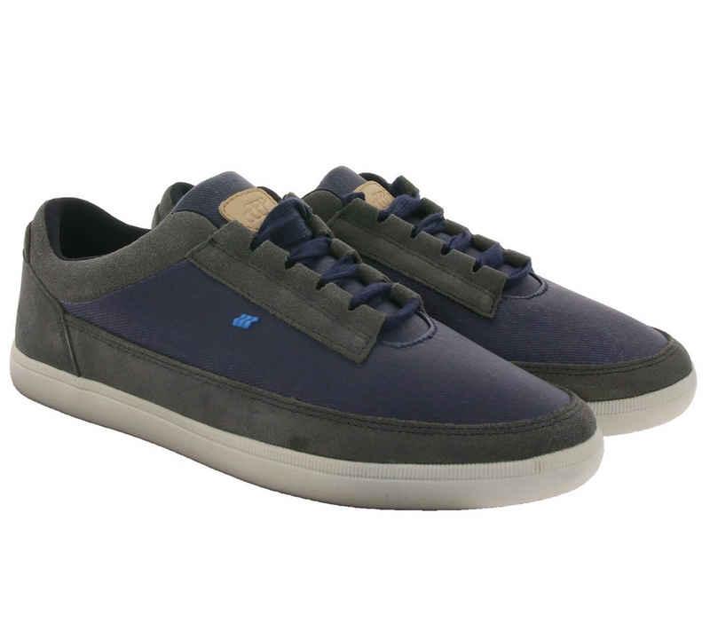 Boxfresh »Boxfresh Troxton Turnschuhe coole Herren Sneaker Schnür-Schuhe Navy/Grau« Sneaker
