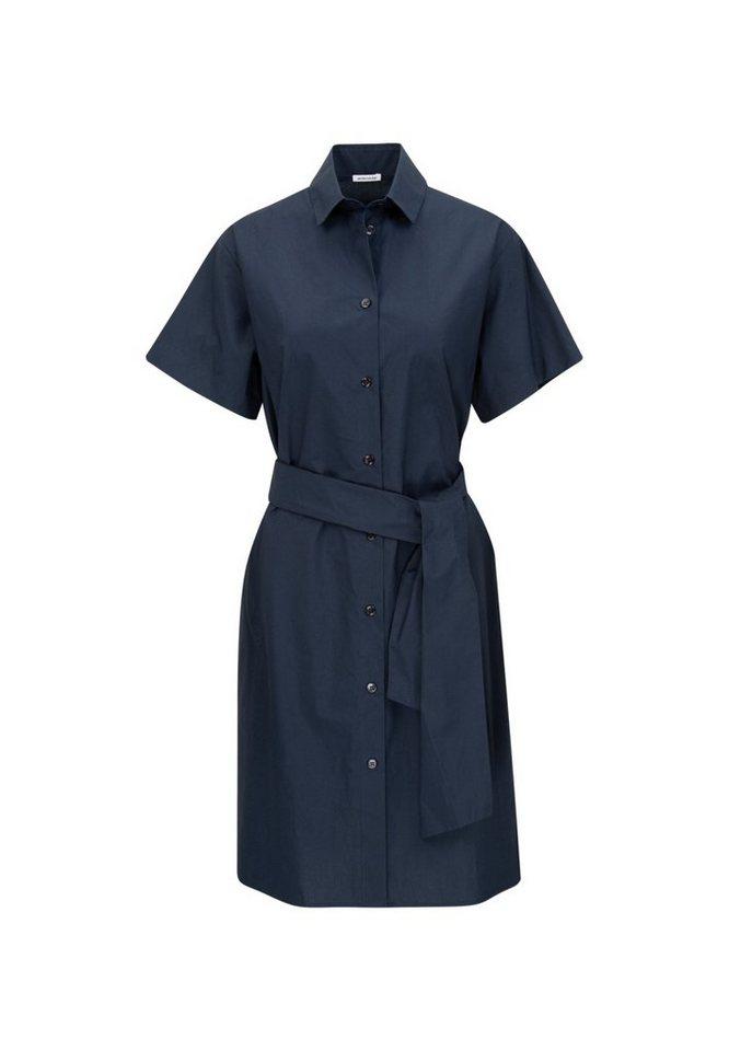 seidensticker -  Sommerkleid »Schwarze Rose« Kurzarm Kragen Uni