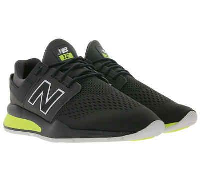 New Balance »New Balance MS247 Sneaker komfortable Street-Schuhe für Damen Freizeit-Schuhe Grau/Weiß/Gelb« Sneaker