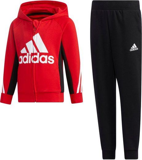 adidas Performance Jogginganzug »LITTLE KIDS FRENCH TERRY TRACKSUIT«