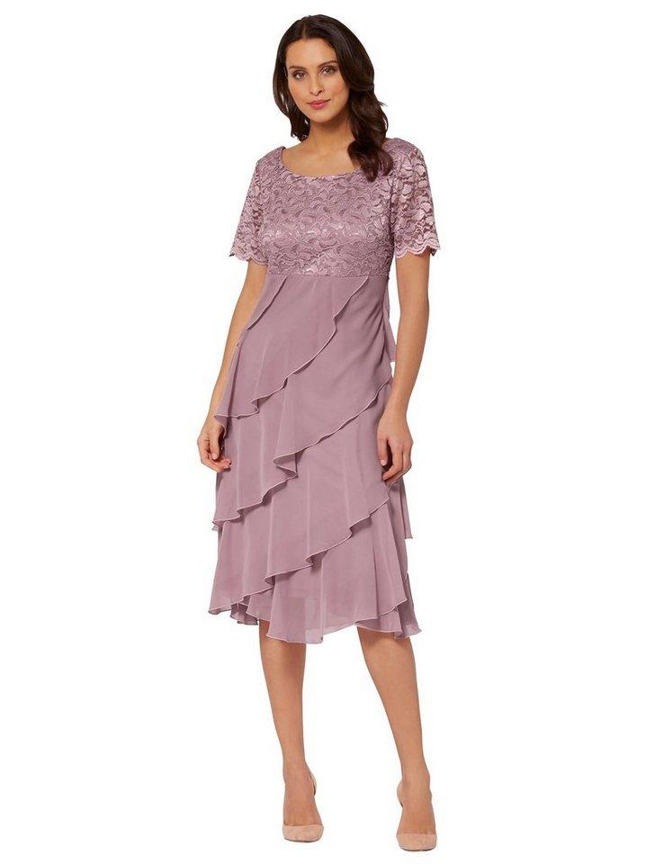 Festtagsmode - Lady Spitzenkleid »Kleid« › lila  - Onlineshop OTTO